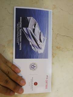 Return tickets for 2 to Batam from Singapore (Majestic Fast Ferry)