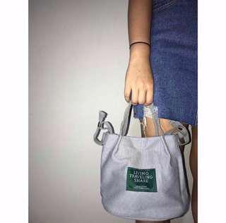 CLEARANCE SALES! Canvas Convenient Sling Tote Bag