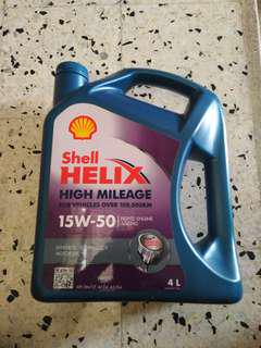 (New) Engine Oil Shell Helix High Mileage