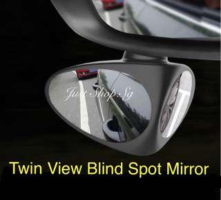 Twin View Car Blind Spot Mirror