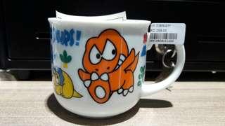 全新 sanrio 1995 we are dinosaurs 恐龍 陶瓷有耳杯 日本版 日本製 罕有