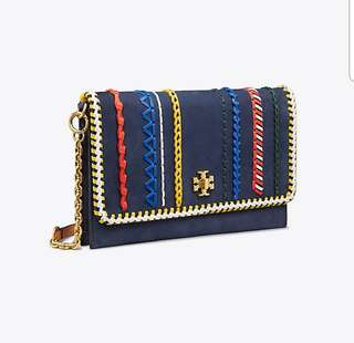 6573c705e2f3f Tory Burch authentic 2way clutch shoulder bag with removeable straps