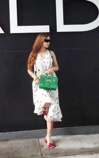 Orig.  H&M tiered crepe dress
