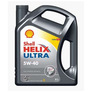 Shell Helix Ultra 5W-40 4L engine oil (Original)