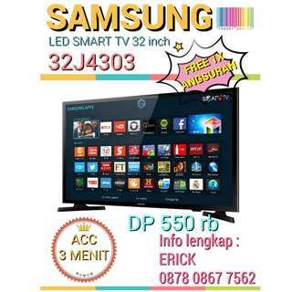 Kredit Smart TV LED SAMSUNG 32 inch Free 1x angsuran