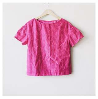 (SALE!) Textured blouse