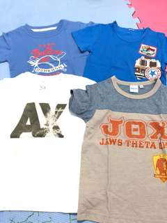 Lot Boys Shirts 3-4YO