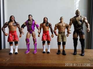 """WWE 6.5"""" Figures"""