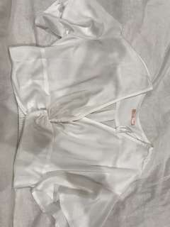 Blouse cropped