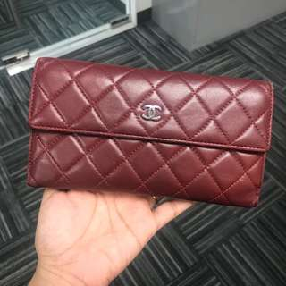 Authentic Chanel Quilted Wallet