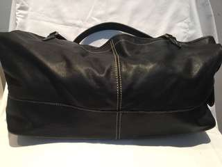Rabeanco large leather tote - versatile carry all bag