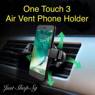 One Touch 3 Air Vent Phone Holder