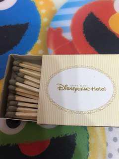 Disney hotel 火柴