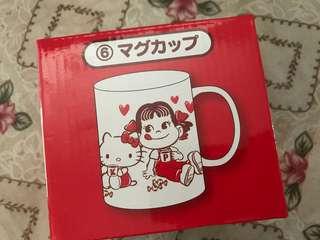 全新 限量 牛奶妹 牛奶 不二家 Hello Kitty hellokitty 珍藏 水杯