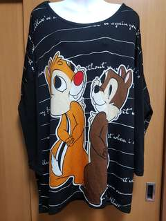 Chip and dales long sleeve top
