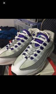 元朗交收減 100 Air max 95 us 10 og with box