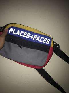 P+F Multi Colour way Shoulder Sling Bag