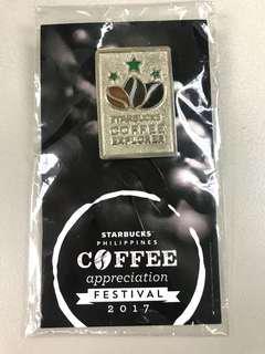 Starbucks Coffee Explorer Pin