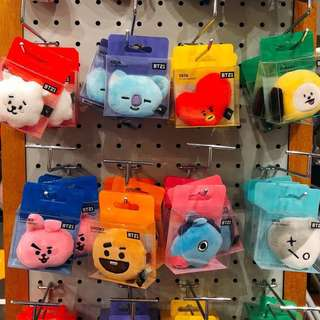 【Korea Buying Service】BTS Line Friends x BT21 Plush Magnet (Head)