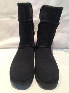 Authentic Emu Charlotte waterproof ugg shoes in dark blue