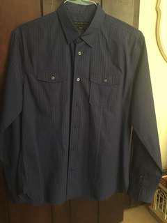 John Varvatos Men's Button Up dress shirt size medium