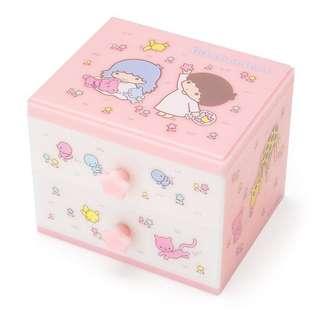 🈹($145–>$130)全新貨品: 日版Little twin stars小櫃桶