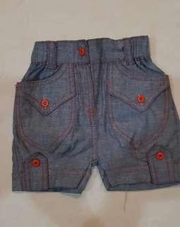 Celana pendek girl 1 thn