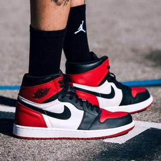 Air Jordan 1 OG bred toe (sold out)
