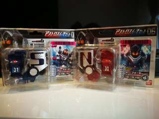Kamen Rider Fourze DX Switch 30 & 31
