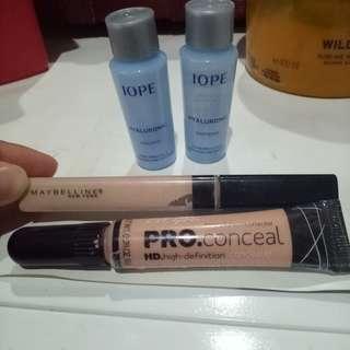 Bundling Paket concealer dan skin care