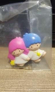 全新 sanrio 1997 雙子星 little twin stars 日本版 磁石