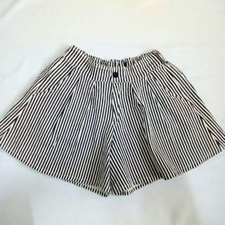 Small Stripes Highwaist Shorts