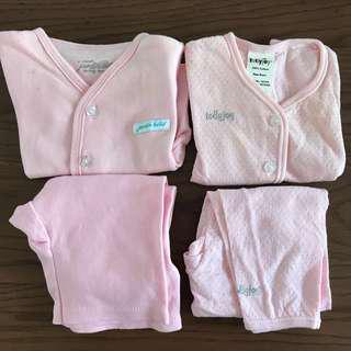 Newborn baby clothes 2 sets