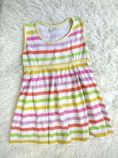 Rainbow Line Dress