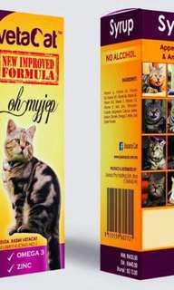 New Formula Vetacat PROMO 3 BOTTLE