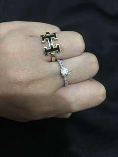 Hermes 18k Italian Ring