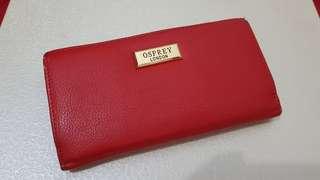 Osprey London Red Wallet