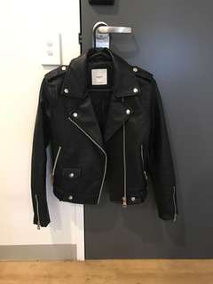 MNG Biker Jacket/ Leather Jacket