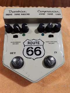Overdrive and Compressor, and Analog Delay
