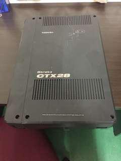 Toshiba PABX phone system