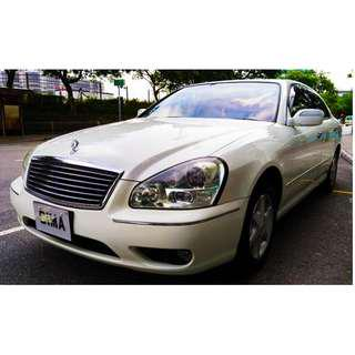 NISSAN CIMA 450VIP FACELIFT EDITION 2008 PEARL