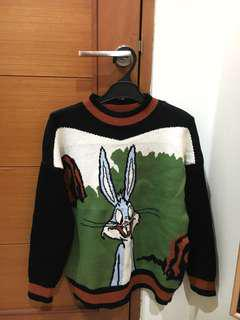 Bugs Bunny Knitted Sweater!