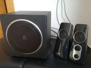Logitech z523 2.1 Speakers