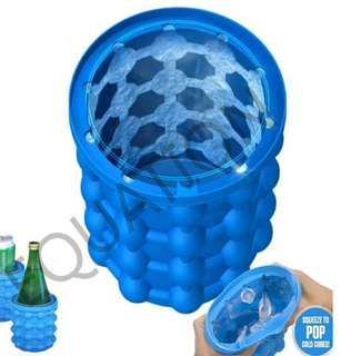 大號-#極夏魔術冰桶#矽膠冰桶#ice genie saving ice#製冰神器(全新/運費$80)