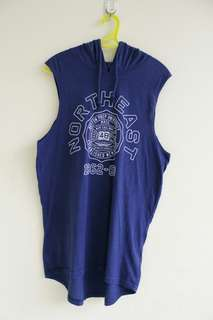 COTTON ON SLEEVELESS HOODIE