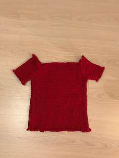 Brandy style red top
