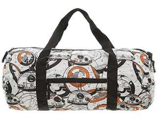 STAR WARS EPISODE 7 OFFICIAL MERCHANDISE BB-8 PACKABLE DUFFLE BAG, WHITE