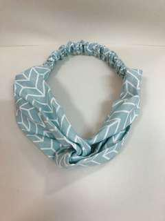 湖水綠髮圈髮帶(Tiffany Blue