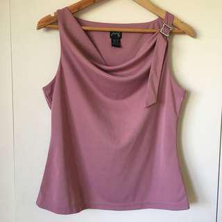 Purple classy top