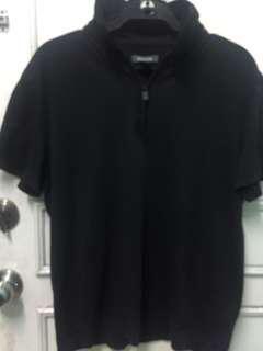 Kenneth Cole Reaction Men's Short Sleeve Cotton Tech Polo